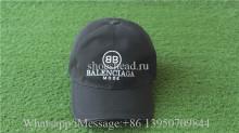 Balenciaga BB Black Cap