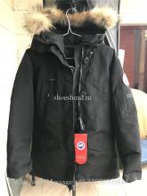 Nobis Canada Goose Down Jacket Black