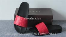 Gucci Red Black Slide