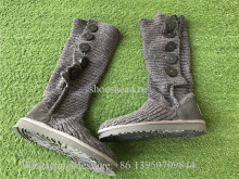UGG Grey-Classic Cardy Boots