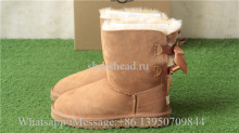 UGG Boots Bow Brown WMNS