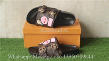 Louis Vuitton Flamingo Lipstick Flat Sandals