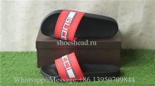 GG Gucci Logo Red Slipper