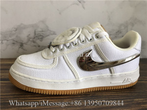 Travis Scott x Nike Air Force 1 Low White