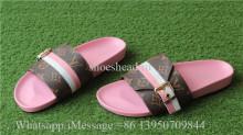 Louis Vuitton Pink Women Slides