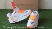 Nike Air Max 1 Lux Just Do It White Black