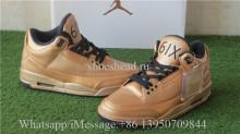 Drake OVO x Air Jordan 3 Gold Black 6IX