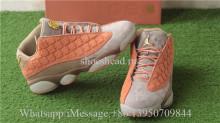 Clot x Air Jordan 13 Low Color Sepia Stone Canteen-Terra Blush