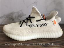 Off White x Adidas Yeezy Boost 350 V2 Cream Beige