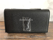YSL Saint Laurent Small Kate Leather Shoulder Bag