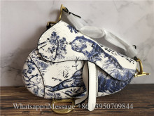 Dior Mini Saddle Calfskin Bag Tiger