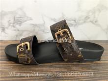 Louis Vuitton Bom Dia Flat Mule Sandals