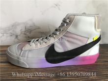 Off-White Nike Blazer Serena Rainbow Soles