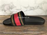 Versace Red Slides
