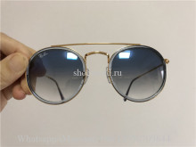 Ray Ban Round Double Bridge Sunglasses