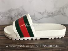 Gucci Flip Flops Slipper White Sandal