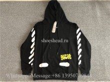 Off White CO Virgil Abloh Black Hoodie(US Size)
