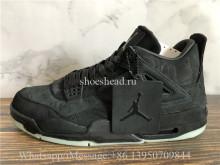 Kaws x Air Jordan 4 Retro Black