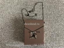 Louis Vuitton black LV Logo Necklace