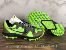Final Version OFF-WHITE x Nike Zoom Terra Kiger 5 Electric Green