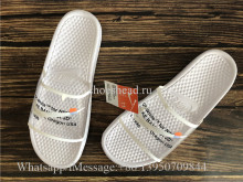 Trendsetter Off White x Nike Benassi Casual Slipper White