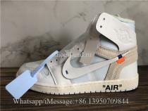 Off White x Air Jordan 1 Retro NRG White