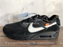 Off White x Nike Air Max 90 OG Black