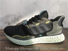 Adidas ZX4000 4D Black Carbon
