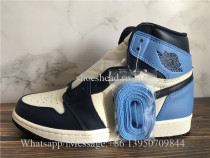Super Quality Air Jordan 1 High OG Obsidian University Blue