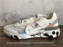 Off-White x Nike React Element 87 White