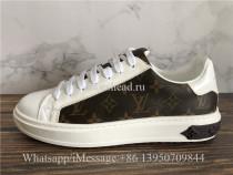 Louis Vuitton Low Top Sneaker Brown White