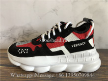 2Chainz Versace Chain Reaction Sneaker Red Black White