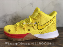 Super Quality Nike Kyrie 5 Spongebob Squarepants Yellow