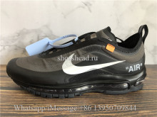Off White x Nike Air Max 97 OG Triple Black