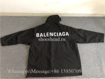 Balenciaga Back Logo Windbreaker Jacket(US Size)