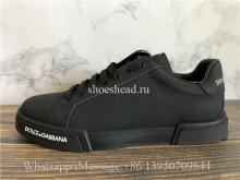 Dolce & Gabbana Portofino Sneakers Leather Rubber
