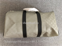 Louis Vuitton Titanium Monogram Duffle Bag