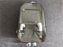 Original Louis Vuitton Monogram Titanium Backpack GM M43881