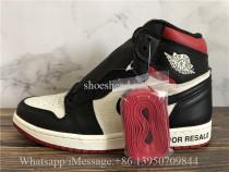 Super Quality Air Jordan 1 Retro High OG NRG Not For Resale In Red