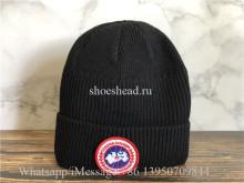 Canada Goose Black Sweater Hat