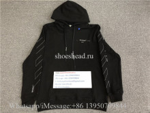 Off White OW Virgil Abloh 19FW Black Sweathoodie