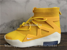 Nike Air Fear Of God 1 Amarillo White
