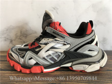Balenciaga Track 2.0 Trainer Grey Black Red