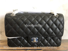Original Quality Chanel Jumbo Caviar Double Flap Bag 25cm