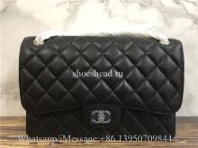 Original Quality Chanel Jumbo Caviar Double Flap Bag 30cm