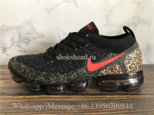 Nike Air VaporMax Flyknit 2 Black Red Hook