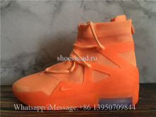 Update Version Nike Air Fear Of God 1 Orange Pulse