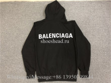 Balenciaga Black  Sweatshirt Hoodies