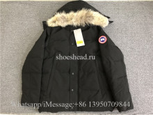 Canada Goose Down Black Jacket