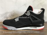 Super Quality Air Jordan 4 Retro Bred Black Cement 2019